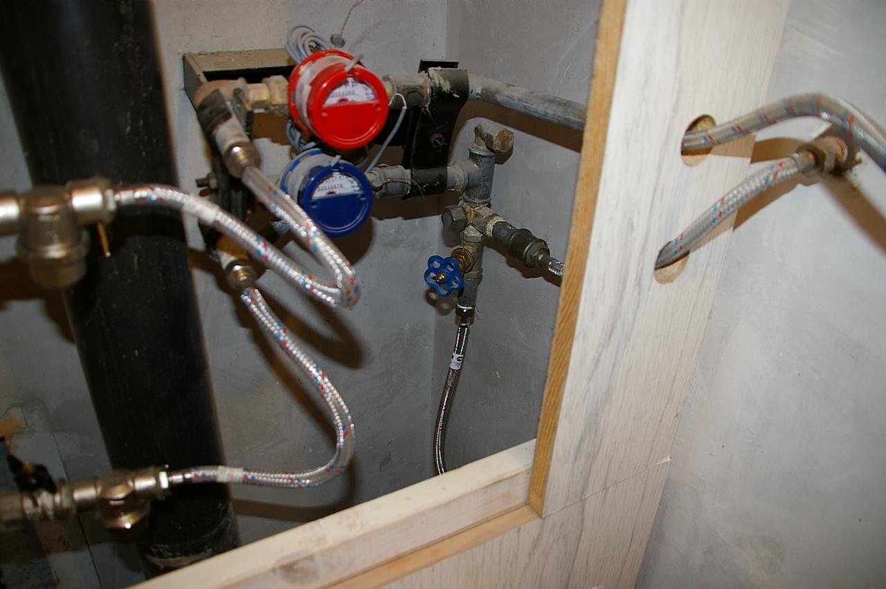 Как сделать подводку воды для смесителя в